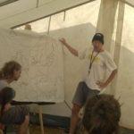 Klimacamp Rheinland 2017: Workshop zu Gefahren von Energie aus Biomasse