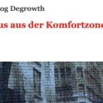 denkhausbremen-Interviewheft zur Wachstumskritik in den Umweltverbänden