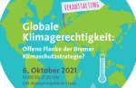 Podiumsdiskussion zu Globaler Klimagerechtigkeit