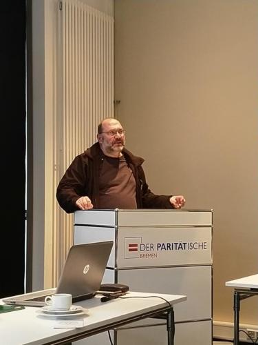 Dr. Stefan Schneider (Koordinator Selbstvertretung wohnungsloser Menschen)